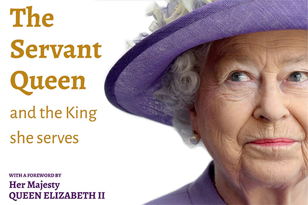 The Servant Queen book cover